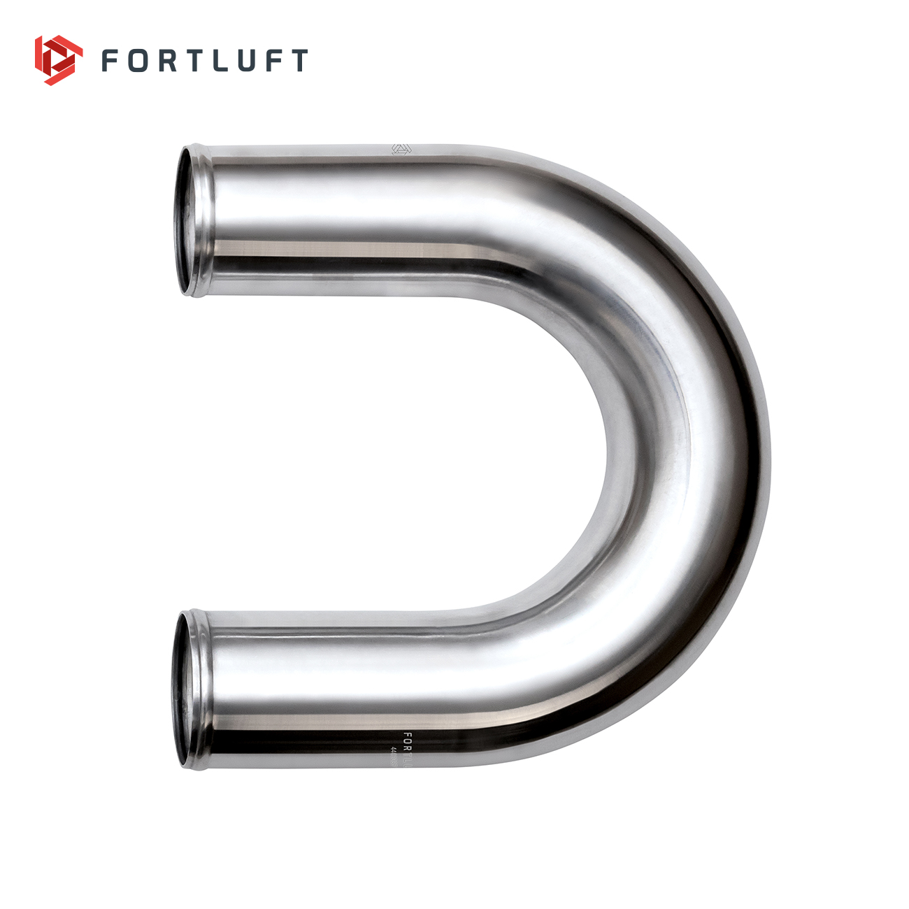 FORTLUFT Universal Turbo Intercooler Piping 180 Degree Aluminum 3.00''/76mm
